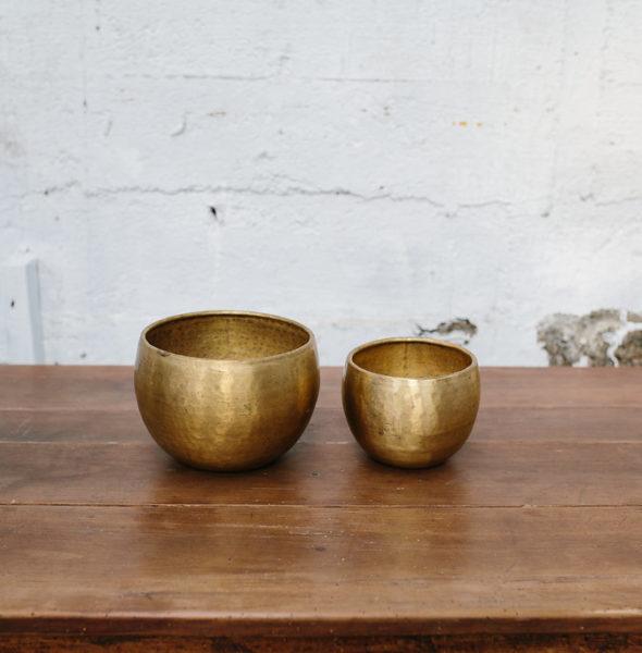 Large Brass Vessel