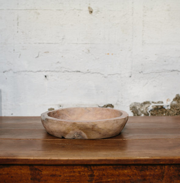 Wooden Bowl – Large