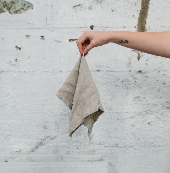 Linen Napkin – Taupe